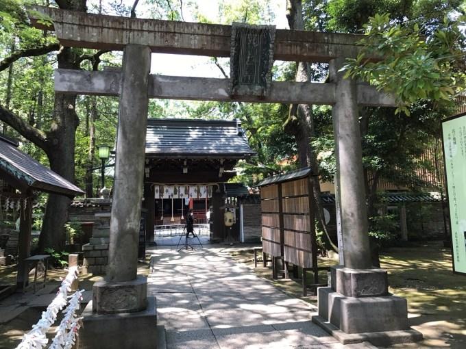 赤坂氷川神社三の鳥居