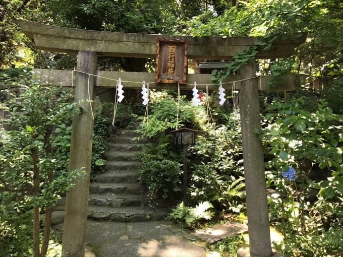 赤坂氷川神社西行神社鳥居