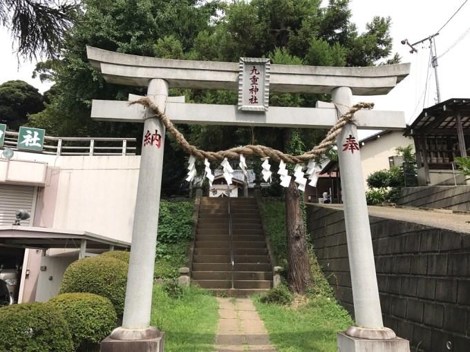 九重神社一の鳥居