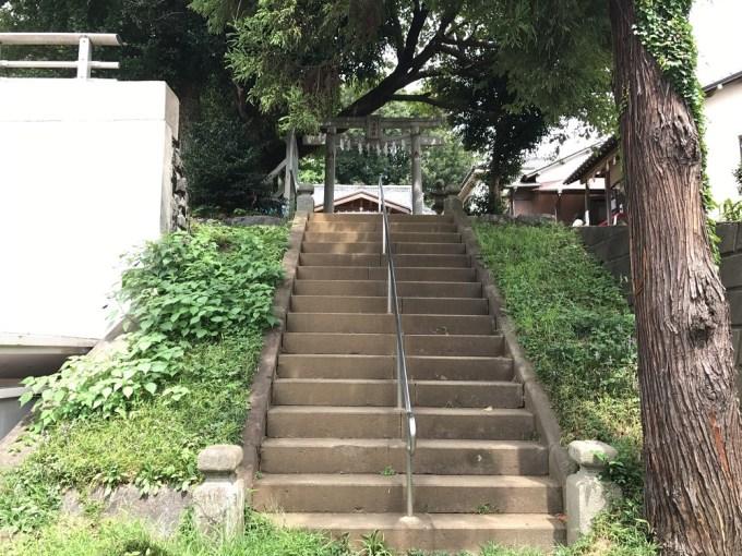 九重神社階段