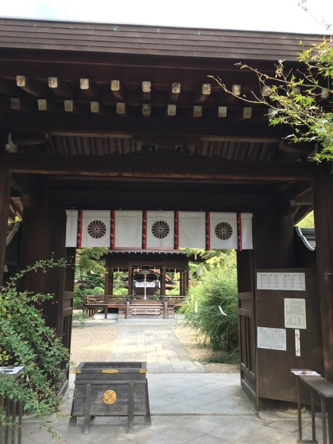 梨木神社神門