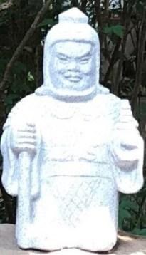 鎮守氷川神社毘沙門天