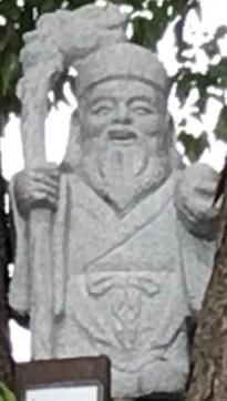 鎮守氷川神社寿老人