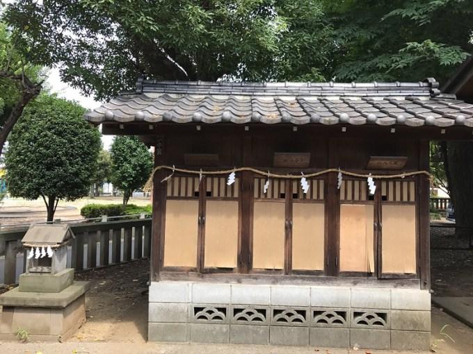 三ツ和氷川神社摂末社