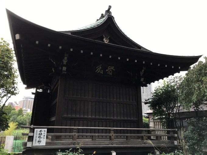 五條天神社神楽殿
