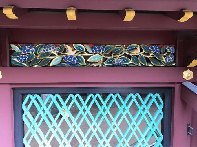 上野東照宮透塀