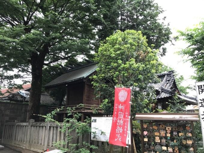 川越熊野神社本殿