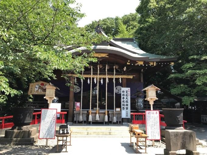 鎮守氷川神社拝殿