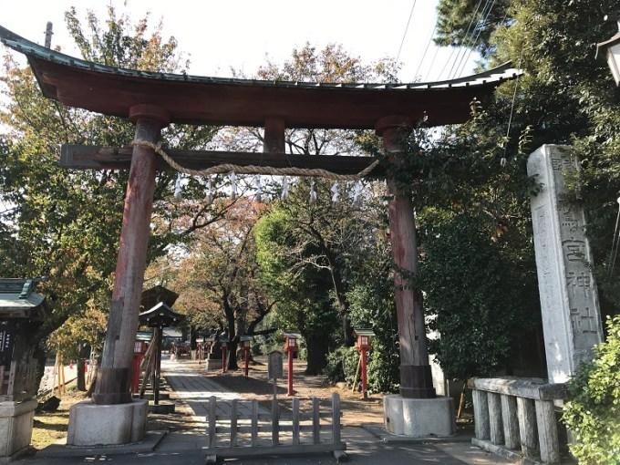 鷲宮神社大鳥居