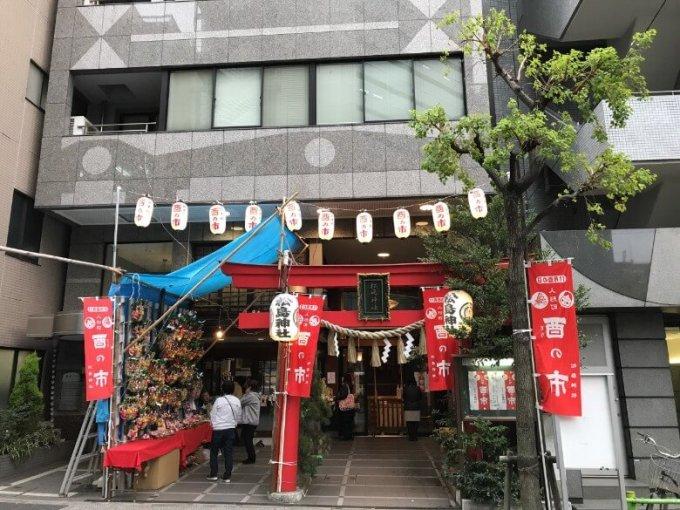 松島神社全体