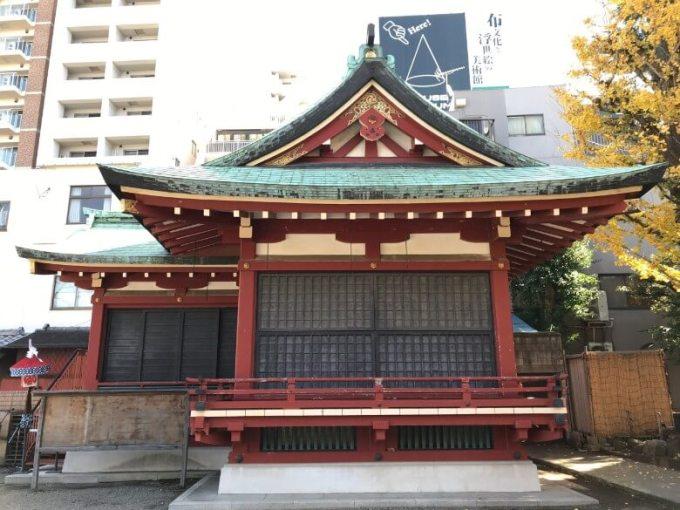 浅草神社神楽殿