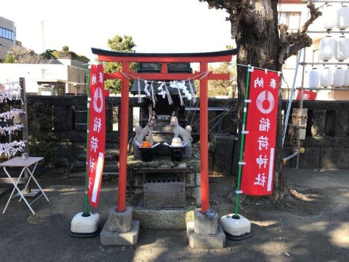 麻布氷川神社稲荷神社