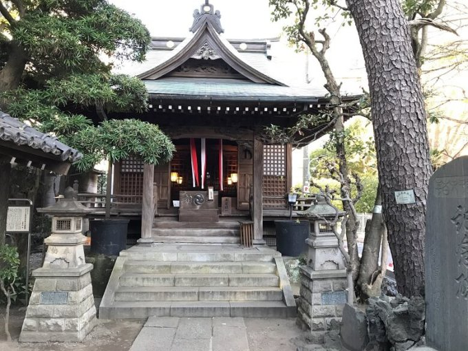 廣尾稲荷神社拝殿