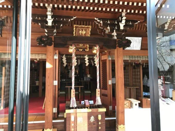元神明宮拝殿