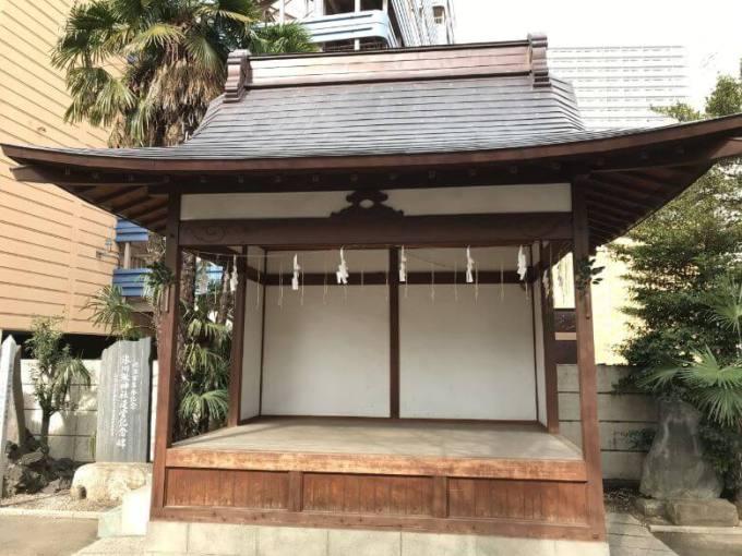 氷川鍬神社神楽殿