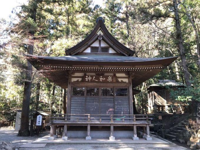 宝登山神社神楽殿