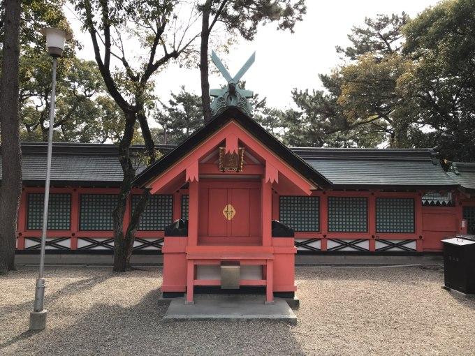 住吉大社楯の神社