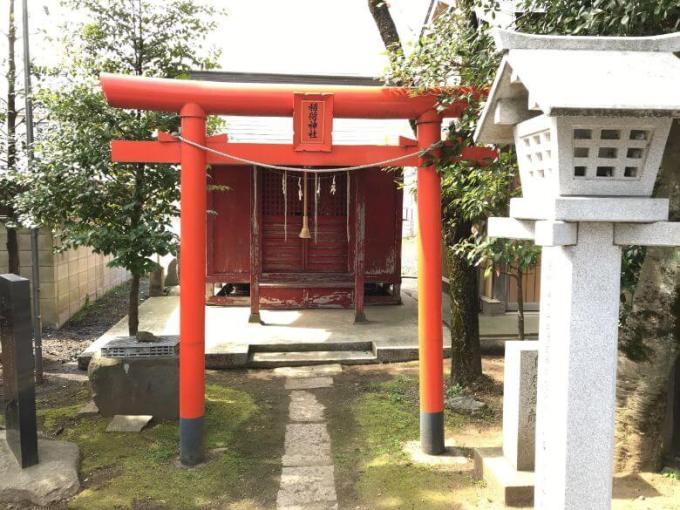 芳川神社稲荷神社鳥居