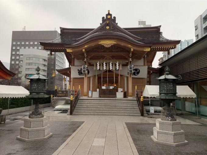 水天宮拝殿
