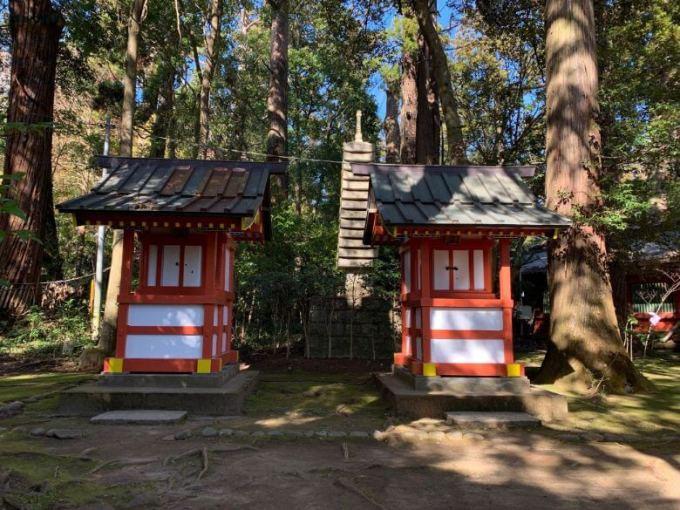 市神社、天降神社、馬場殿神社