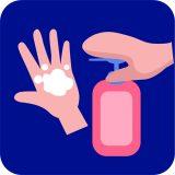 Corona (COVID-19) virüsü için önlem alın ellerinizi yıkayın