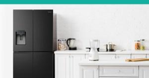 PureFlat Black Hisense fridge