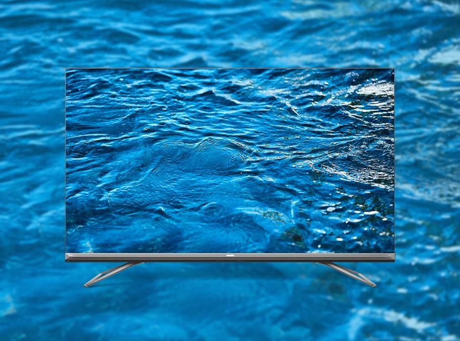 ULED 8K TV water on screen