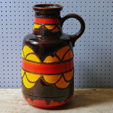 Vintage 408-40 Scheurich West German vase | H is for Home
