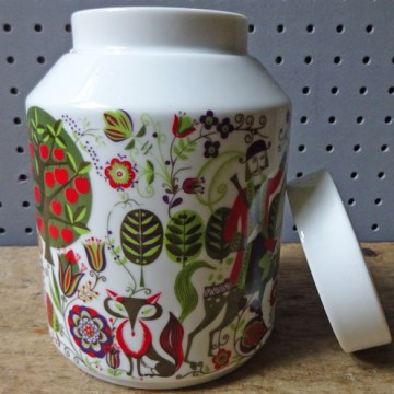 Vintage Bidasoa ceramic jar | H is for Home