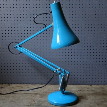 Blue vintage Anglepoise lamp | H is for Home