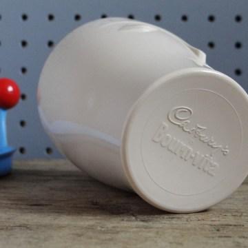 Cadbury's Bournvita mug with nightcap lid