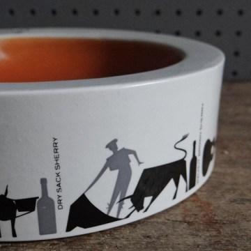 Vintage Burleigh ware ashtray