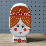 Vintage Carltonware princess money box | H is for Home