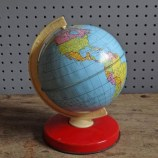 Vintage Chad Valley tin globe