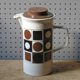 Johnson Brothers circles & squares coffee pot