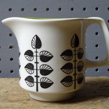 Vintage Crown Devon milk jug | H is for Home