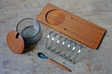 Vintage Danish breakfast set