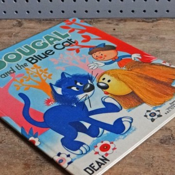 Dougal and the blue cat book