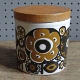 Elayne Fallon Weston storage jar, brown
