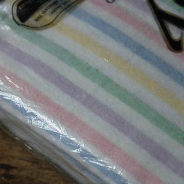 Vintage Embassy blanket | H is for Home