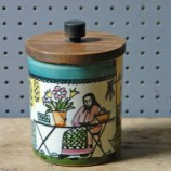 Vintage Jie Gantofta lidded pot | H is for Home