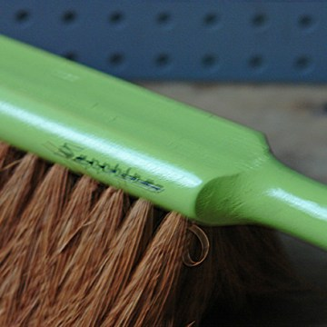 Green vintage Sapphire brush | H is for Home