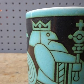Vintage Hornsea John Clappison 'Your Majesty' birthday mug | H is for Home