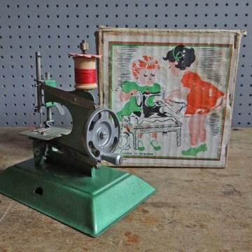 Child's miniature Junior sewing machine