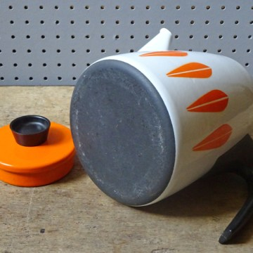 Orange Lotus Cathrineholm coffee pot | H is for Home