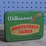 Wilkinson's Pontefract cakes tin