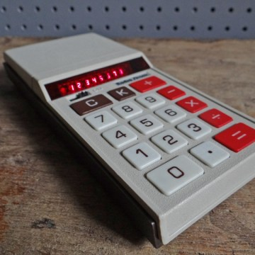 Radio Shack calculator