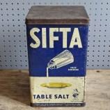 Sifta Table Salt tin