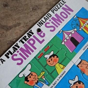 Simple Simon jigsaw puzzle