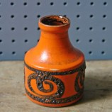 Vintage 550-10 Scheurich West German vase | H is for Home